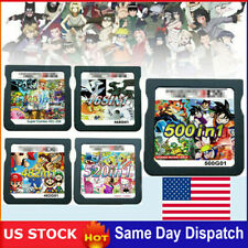 208/482/468/500/520 In1 Games Cartridge Cards For Ds Nds 2Ds 3Ds Ndsi Ndsl Usa
