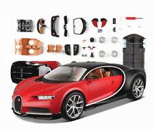 1:24 Bugatti Chiron Assembly Line Metal Diecast KIT DIY Model Car Vehicle New