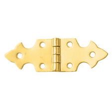 Brass-Plated Small-Strap Small-Box Fastener Hinge