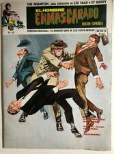 THE PHANTOM #6 (1974) Spanish B&W magazine comic book VG+