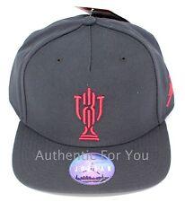 9d80e172ed6 ... Grey Snapback Hat Xx3 23 Gray Cap.  74.95 New. Nike Air Jordan Trophy  Room Black and Red Snapback Hat Xx3 23