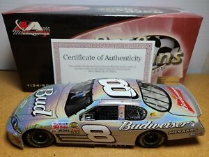 2007 Dale Earnhardt Jr #8 Budweiser Mesma Chrome 1:24 NASCAR Action RFO MIB