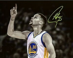 Stephen Curry Autographed Signed 8x10 Photo (NBA Golden State Warriors) REPRINT