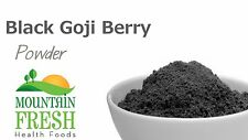 Black Goji Berry Powder - Superfood Supplement 100g FREE UK Delivery