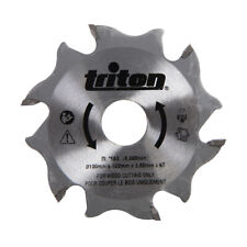 Genuine Triton Biscuit Jointer Blade 100mm TBJC Replacement Blade | 899068