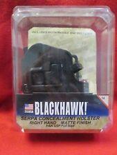 BLACKHAWK SERPA CONCEALMENT HOLSTER RIGHT HAND H&K USP FULL SIZE  MATTE FINISH