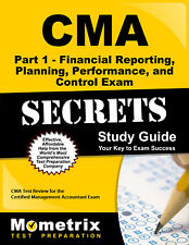 CMA Part 1 - Financial Planning, Performance and Control Exam Secrets