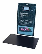 Ashley Housewares Defrosting Tray Rapid Meat Defrost Aluminium 35.5x20.4cm NEW