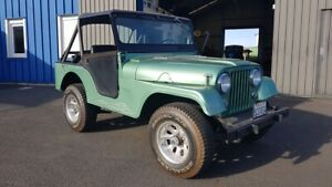 Jeep Willys de 1956