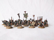 Warhammer Skaven Plague Monks X20 Custom Painted by Pizzazz