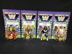 WWE 2021 Wave 5 Masters Of The Universe Action Figures Complete Set of 4 MOTU