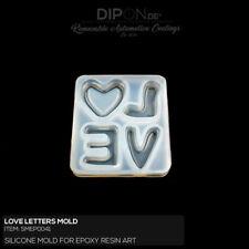 Epoxidharz Silikonform Coaster Gießform Epoxy Resin Art Guss Silicone Mold