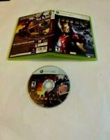 Iron Man (Microsoft Xbox 360, 2010) MARVEL SEGA FAST SHIPPING TEEN NTSC