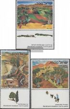 Israel 881-883 with Tab (complete issue) unmounted mint / never hinged 1982 Land