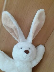 Mothercare Vintage Snuggle Bunny Rabbit Baby Comforter Plush Soft Toy MC153