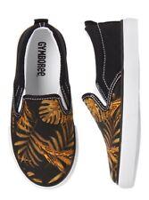 NWT Gymboree Hello Havana Kid Boys Slip On Palm Leaf Shoes Size 13