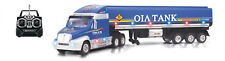 "29"" Radio Control RC Container Trailer Tanker Truck Car w Remote Blue T2B"