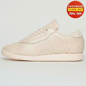 Reebok Classic Princess Leather Women's  Casual Fitness Workout GymTrainers Pink