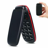 Flip Mobile Phone Pay as You Go Simple GSM Dual SIM Basic Button Clamshell