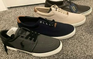 NWT BIG & TALL D W EE Mens Faxon Casual Shoe by Polo Ralph Lauren Sneaker leathe