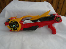 Power Rangers Super Ninja Steel Lion Gun Shooter Dart Gun Plus Ninja Star