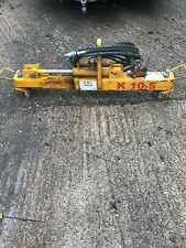 Kerb / curb lifter, hydraulic, use with mini digger, JCB.