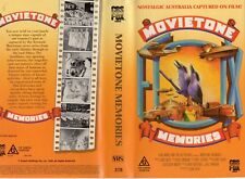 MOVIETONE MEMORIES - VHS -PAL -NEW -Never played!-Original Oz release -Nostalgia