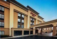 Hilton Hampton Rochester Greece NY Any 1 Night Hotel Room Stay $129 Value
