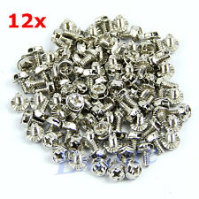 12 x Computer PC Desktop Hex Screws Hexagonal Screws PC Case Screws for PCI Card