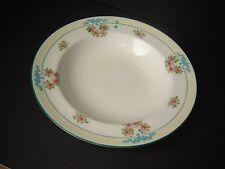 """Estate VTG 12 Lenox 8 1/4"""""""" Soup Plates H 30 A Green Mark Embossed Design"""