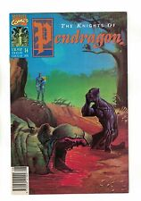 Knights of Pendragon Vol. 1 - #14 | Black Panther Cover | Marvel - August 1991
