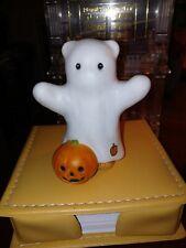 Lucy & Me Halloween Bear Ghost Spook Pumpkin Lucy Rigg Enesco 1985 Rare