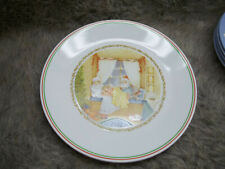 CORELLE 1985 &1986  CHRISTMAS LIMITED EDITION DINNER PLATES