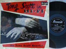 Tony Scott Quartet ORIG OZ LP In Hi-fi VG+ 1957 MONO Brunswick Jazz Post Bop