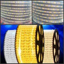 5050 Tape Lights rope Waterproof 110V 100m 5m Strip SMD Flexible Ribbon LED 220V