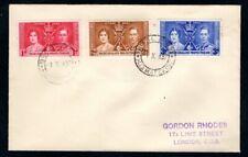 Bechuanaland - 1937 KGVI Coronation Cover