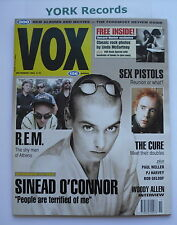 VOX MAGAZINE - Issue 26 November 1992 - Sinead O'Connor / R.E.M. / Sex Pistols