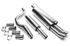 Audi A3 (8L) Full Exhaust Stainless Steel 2x76 DTM