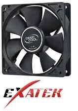 Deepcool XFAN120 Silent 120mm Hydro Bearing Case Fan 28db 4pin Molex Connector