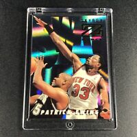 PATRICK EWING 1996 SKYBOX Z-FORCE #ST1 SWAT TEAM HOLOFOIL INSERT NBA KNICKS HOF