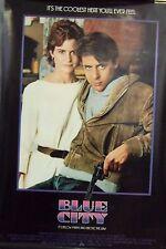 Blue City Original 1986 Single Sided 27X40 Movie Poster Judd Nelson Ally Sheedy