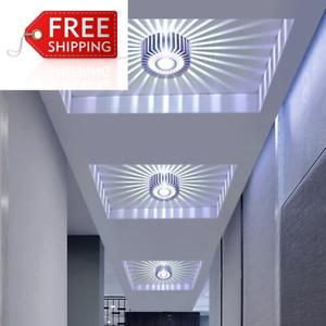 Lámpara Led Empotrada Moderna, Lámpara de Techo Empotrada, Luz de Puntos