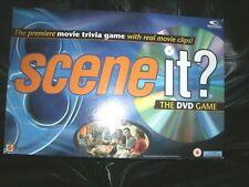 SCENE IT? MOVIE TRIVIA BOARD GAME - THE DVD GAME - MATTEL 2003/4