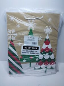 """Hallmark 13"""" Large Christmas Gift Bag Assortment with Tissue Paper, 3 Pack"""