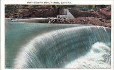 MODESTO, CA California     GOODWIN  DAM     c1920s    Postcard