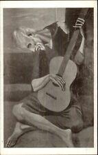 Pablo Picasso Le Guitariste Postcard myn