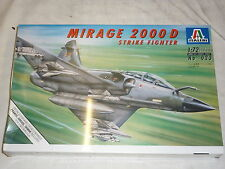 A Factory Sealed Italeri un made plastic kit of a MIRAGE 2000 D, Strike fighter
