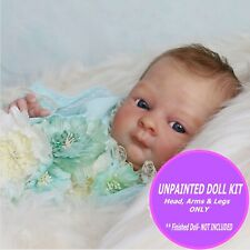 "Reborn doll kit, Bean by Denise Pratt, so Cute 16"" unpainted DIY blank kit, read"