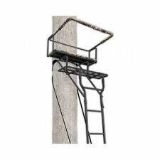 Ladder Tree Stand Ameristep 15' Two- Man Solid Steel 2 Seat Hunting Stand NEW
