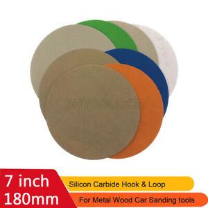 7inch Wet & Dry Sandpaper Water-proof Hook & Loop Sanding Disc 60-10000 Grit